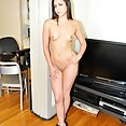 Mixed race Asian chick Meg pole dancer - image