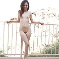 Pool side with naked dream teen Mila Jade - image