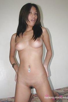 Sultry and brown nude Filipina model of perfection