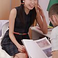 Skinny Chinese girl gets much more than she had bargained for in bed - image